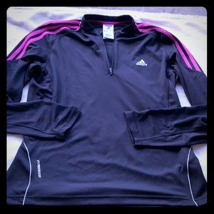 Adidas 1/4 zip up jacket